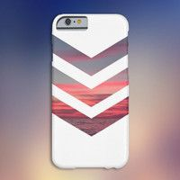 Chevron Pink Sunset Case for iPhone 6 6+ iPhone 5 5S 5C iPhone 4 4S and Samsung Galaxy S5 S4 & S3