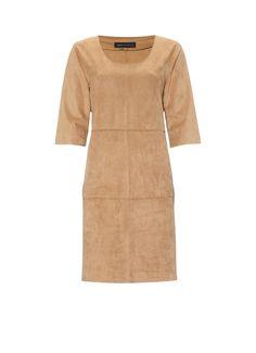 Expresso Burton jurk van suèdine • de Bijenkorf