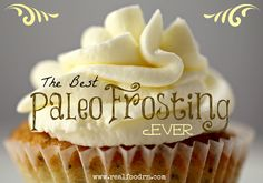 The Best Paleo Frosting Ever