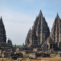 Prambanan ruins in Java. Photo courtesy of bucketlistbums on Instagram.