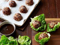 Asian Pork Meatballs recipe from Food Network Kitchen via Food Network