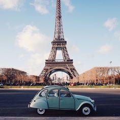 Paris. Beep beep. Photo by Duncan Wolfe