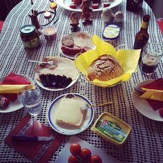 Abendessen a la Germany... :)