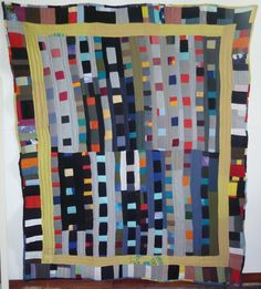 A Contemporary Wedding Quilt. $195.00, via Etsy.