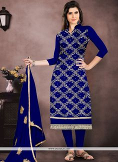 cdc3596f1d2 Churidar Suit For Party. Design