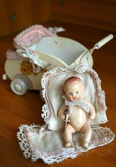 Немецкий пупс Hertwig Хертвиг Германия | Antique baby dolls