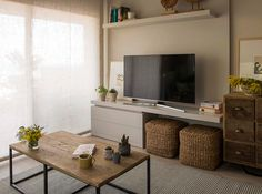 Home Decoration Do It Yourself Living Room Tv, Interior Design Living Room, Home And Living, Tv Unit Furniture, Cheap Furniture Online, Cheap Home Decor, Home Decor Inspiration, Decoration, Tv Room Small