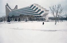 The beauty of Soviet brutalism