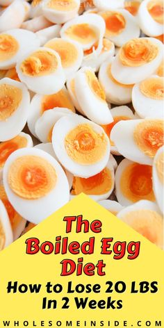 🚨 Who says dieting have to be hard? Lose 20 pounds quick in AS SHORT AS 2 WEEKS with this easy boiled egg diet, without work out!🥚 👉 CLICK ON THE LINK to see my detailed DAY BY DAY meal plan make it even easier! 👈