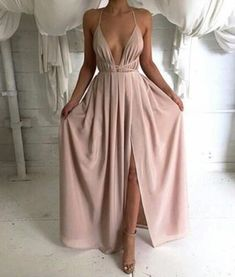 Long prom dresses, simple prom dresses, cheap prom
