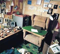 羅爾德·達爾,兒童作家。 | 40 Inspiring Workspaces Of The Famously Creative