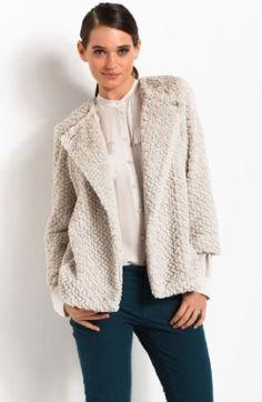 Armani Exchange Easy Faux Fur Jacket. Ordered this last week...