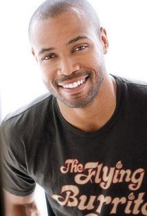 Isaiah Mustafa. So handsome, it actually makes me furious. I could slap somebody...