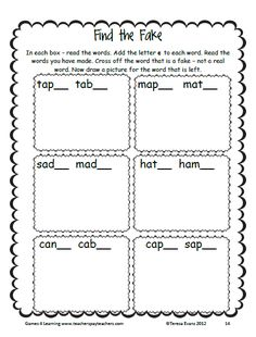 This is a Long a a_e Word Work unit from Games 4 Learning.   It contains 9 Activities and Games to introduce or review the Long a a_e words including those with the patterns ate, ake, ade, ame, ale and ace. $