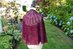 Summer Moon Shawl by Judy Marples