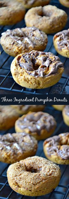 Pumpkin Donut Recipes by the36thavenue.com