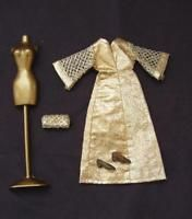 Vintage Topper DAWN Doll Series GLIMMER GLAMOUR Outfit Gown, EX!