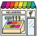 Bits de inteligencia: Las tiendas de tu ciudad Spanish Teacher, Teaching Spanish, Paper Doll House, Paper Dolls, Community Places, Give Directions, Spanish Vocabulary, House Quilts, Montessori Materials