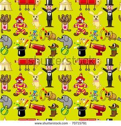 Google Image Result for http://image.shutterstock.com/display_pic_with_logo/624082/624082,1297129516,1/stock-vector-seamless-circus-pattern-70715791.jpg