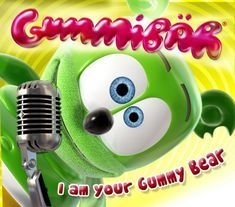 Gummibär-I'm a Gummy Bear (The Gummy Bear Song) – Catalog Itunes Gummy Bear Costume, Dance Party Kids, Gummy Bear Song, Bear Songs, All Disney Princesses, Funny Bears, Party Pops, Song Time, Passion Project