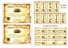 Fort Boyard challenge game cards to print For all Yoga For Kids, Diy For Kids, Diy Halloween Decorations, Halloween Diy, Challenge Games, Frozen 2, Harry Potter Diy, 11th Birthday, Woodworking Crafts