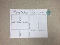 Bullet Journal Year In Review, Bullet Journal Lists, Bullet Journal Spread, Bullet Journal Inspiration, Bullet Journals, Journal Ideas, Bullet Journal Reflection, Monthly Review, Garden Journal
