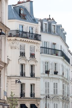 #paris #parisian #rebeccaplotnick #parisphotography #travelphotography #montmartre #parisart #french Paris Photography, Light Chasing in Montmartre, Parisian Balcony, French, soft blue and grey tones - French Decor - Paris Wall Art by rebeccaplotnick on Etsy