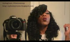 Awesome crochet braids with marley hair