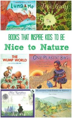 Wonderful books that inspire kids to improve the outdoors & care for nature! L… Wonderful books that inspire kids to improve the outdoors & care for nature! Love that these stories focus on how small acts can have HUGE results! Outdoor Education, Outdoor Learning, Nature Activities, Activities For Kids, Stem Activities, Reading Activities, Sequencing Activities, Preschool Books, Science Books
