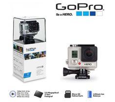 GOPRO HERO3 WHİTE EDİTİON KOD: GPH3W Liste fiyatı: 1,000.00 TL   Fiyat : 819.00 TL KDV DAHİL http://www.simdialsak.com/gopro-hero3-white-edition.html