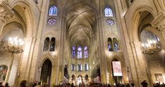 360 Pano Notre Dame Cathedral, Paris, France