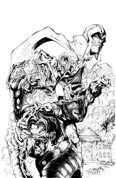 X-Men Cover by Stephen Jorge Segovia