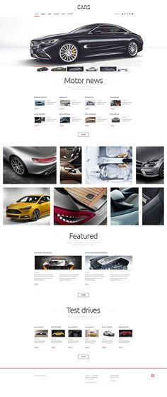 #Cars #WordPress #Theme.The template is specially designed for automotive websites and blogs. It features responsive layout that ensures smooth traffic flow and revenue boost as the website automatically adjusts to any screen resolution displaying all content of the page. It also comes loaded with full width slider at the top and an image gallery with easy to use navigation in the content part. Use this cars WP theme to give your website a touch of personality and style. There is another…