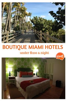 Here are 3 boutique Miami hotels where you don't have to sacrifice style for budget. From travel and food expert Rachelle of TheTravelBite.com.