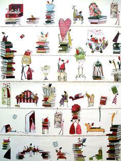 Designer Geschenkpapier Silke Leffler Dekor GP12126 von buchundbox, €2,00
