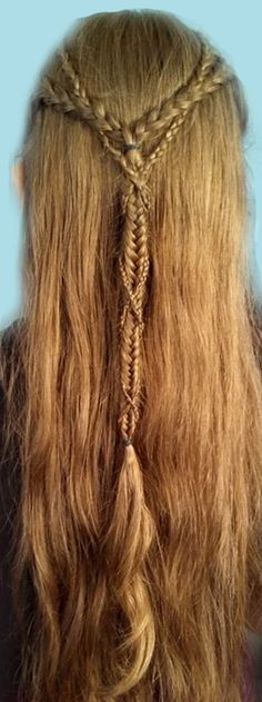 Beautiful Elven Braids <3