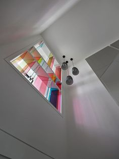 Chorus, a two-story, 11th floor apartment in Taipei, Taiwan, by Ganna Design