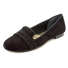 Alfani Makayla Womens Size 95 Black Suede Loafers Shoes -- Find out more details by clicking the image