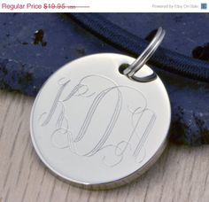 BLACK FRIDAY SALE Monogram Pendant  by TheJewelryGirlsPlace, $14.96