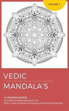 Vedic Mandalas Coloring Pages