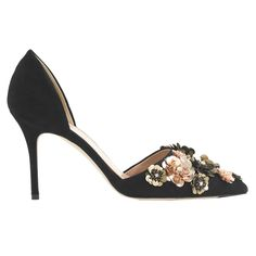 9 Must-Haves to Stash in Your Desk for Your Next Holiday Party - An Embellished Pump  - from InStyle.com