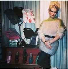 Jordan inside store SEX (Vivienne Westwood and  Malcolm) UK