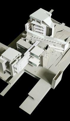 Architecture Design, Architecture Concept Drawings, Chinese Architecture, Architecture Visualization, Structural Model, Steel Structure Buildings, Study Room Design, 3d Modelle, Arch Model