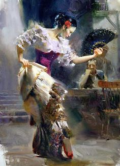 Lavender Flamenco