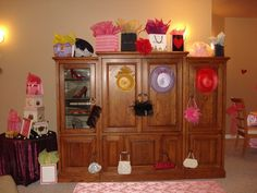 Fancy Nancy Party decorating ideas
