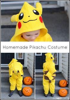 How to make a homemade Pikachu Halloween costume for kids