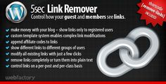 Review 5sec Link Remover - a membership extension pluginlowest price for you. In addition you can compare price with another store and read helpful reviews. Buy