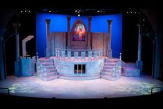 Image result for Beauty and the Beast musical set