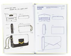 BAG DESIGN by Fashionary Fashionary Bag Design book is the most practical bag encyclopedia, a complete handbook for bag designers & bag lovers. Differential from ordinary bag design books, the. Leather Bag Design, Bag Illustration, Illustrations, Leather Wallet Pattern, Drawing Bag, Fashion Sketchbook, Bag Patterns To Sew, Technical Drawing, Diy Bags