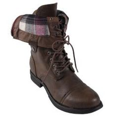 @Overstock - Chic and bold, these faux leather boots from Madden Girl http://www.overstock.com/Clothing-Shoes/Madden-Girl-by-Steve-Madden-Zorbaa-Lace-up-Fold-over-Boots/6412711/product.html?CID=214117 $79.99